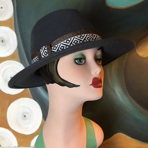 Jeanne Simmons Accessories - Unisex Large Brim Fedora